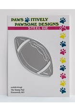 Paws-Itively Pawsome Designs Football - Die