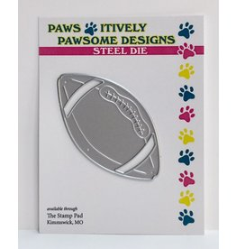 Paws-Itively Pawsome Designs Football