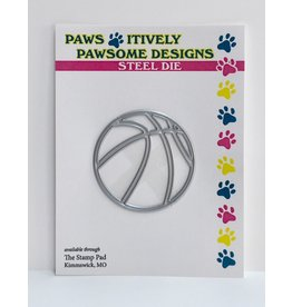 Paws-Itively Pawsome Designs Basketball - Die