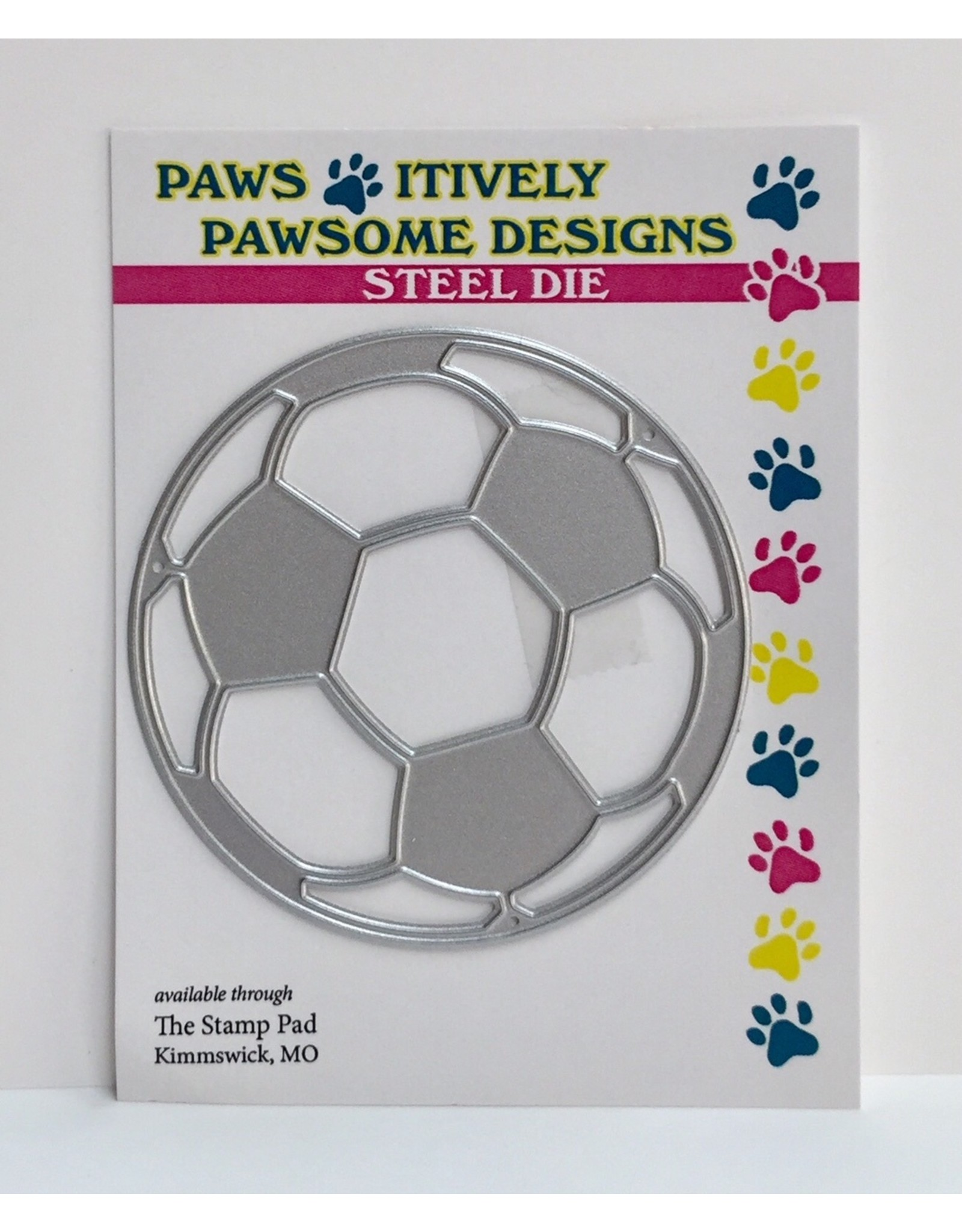 Paws-Itively Pawsome Designs Soccer Ball - Die