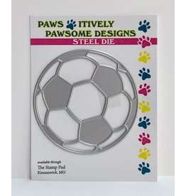 Paws-Itively Pawsome Designs Soccer Ball