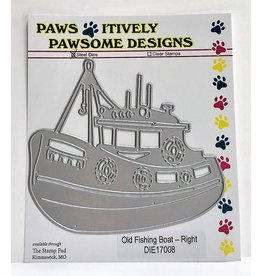 Paws-Itively Pawsome Designs Old Fishing Boat (right) - Die