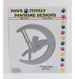 Paws-Itively Pawsome Designs Swinging Finola - Die