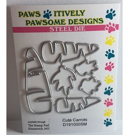 Paws-Itively Pawsome Designs Cute Carrots