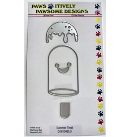 Paws-Itively Pawsome Designs Summer Treat - Die