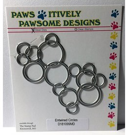 Paws-Itively Pawsome Designs Entwined Circles - Die