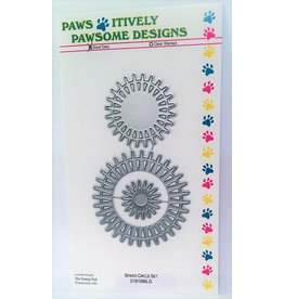 Paws-Itively Pawsome Designs Spiked Circle Set - Die