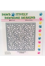Paws-Itively Pawsome Designs Arched Mosaic Square