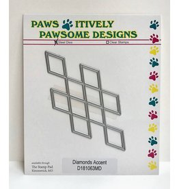 Paws-Itively Pawsome Designs Diamonds Accent - Die