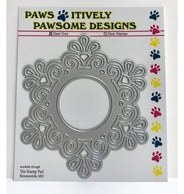 Paws-Itively Pawsome Designs Filigree Medallion - Die