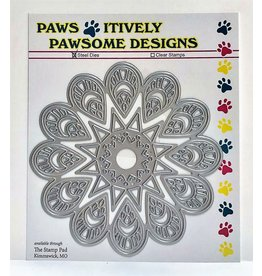 Paws-Itively Pawsome Designs Teardrop Medallion