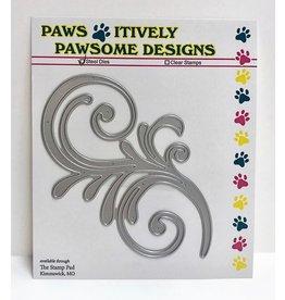 Paws-Itively Pawsome Designs Large Flourish