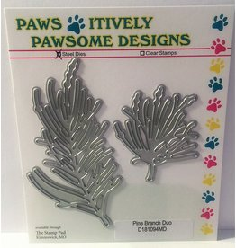 Paws-Itively Pawsome Designs Pine Branch Duo