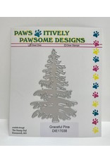 Paws-Itively Pawsome Designs Graceful Pine - Die