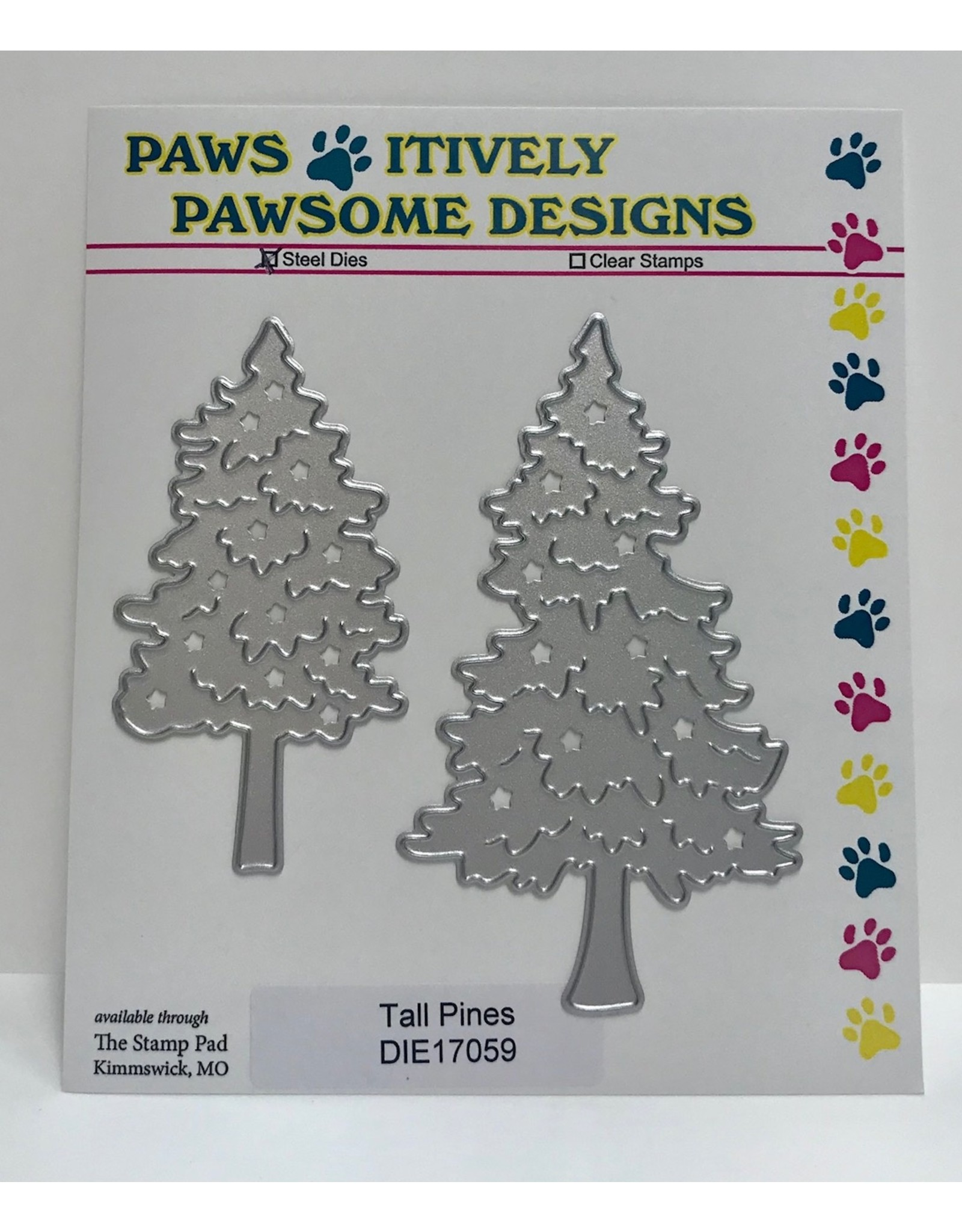Paws-Itively Pawsome Designs Tall Pines - Die