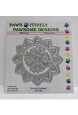 Paws-Itively Pawsome Designs Moroccan Sunflower - Die