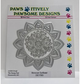Paws-Itively Pawsome Designs Moroccan Sunflower