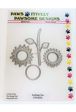 Paws-Itively Pawsome Designs Sunflower Duo - Die
