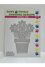 Paws-Itively Pawsome Designs Potted Daisies - Die
