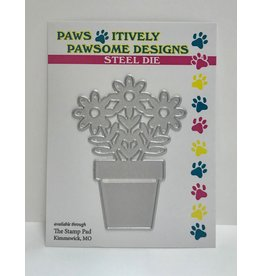 Paws-Itively Pawsome Designs Potted Daisies