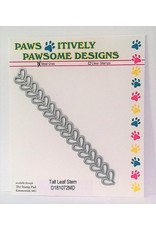 Paws-Itively Pawsome Designs Tall Leaf Stem - Die