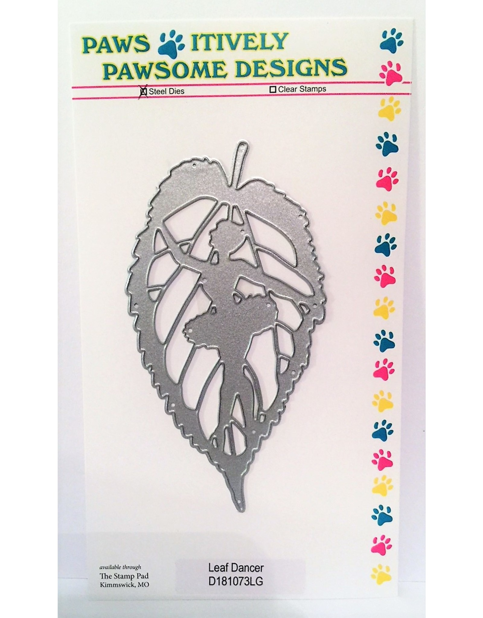 Paws-Itively Pawsome Designs Leaf Dancer - Die