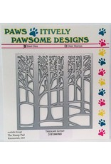 Paws-Itively Pawsome Designs Treescape Cutout - Die
