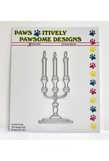 Paws-Itively Pawsome Designs Candlelabra