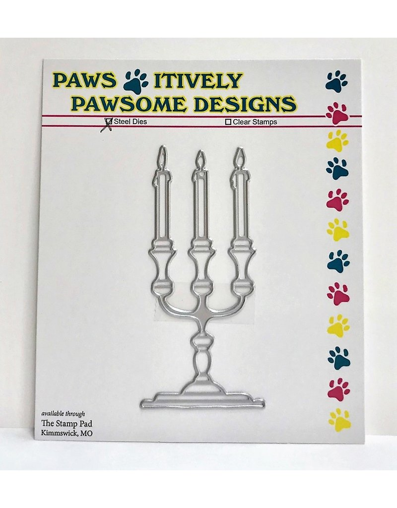 Paws-Itively Pawsome Designs Candlelabra - Die