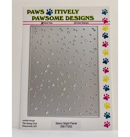 Paws-Itively Pawsome Designs Starry Night Panel