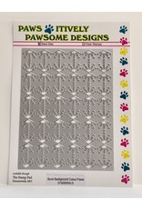 Paws-Itively Pawsome Designs Burst Background Cutout Panel - Die