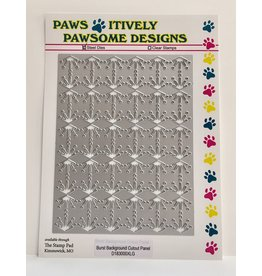 Paws-Itively Pawsome Designs Burst Background Cutout Panel