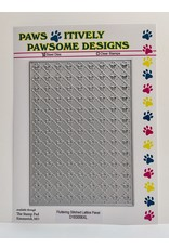 Paws-Itively Pawsome Designs Fluttering Stitched Lattice Panel - Die
