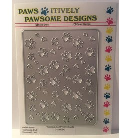 Paws-Itively Pawsome Designs Pawsome Pawprints Panel