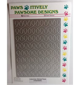 Paws-Itively Pawsome Designs Loop-d-loo Stitched Panel