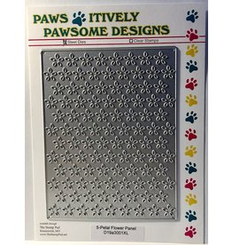 Paws-Itively Pawsome Designs 5-Petal Flower Panel