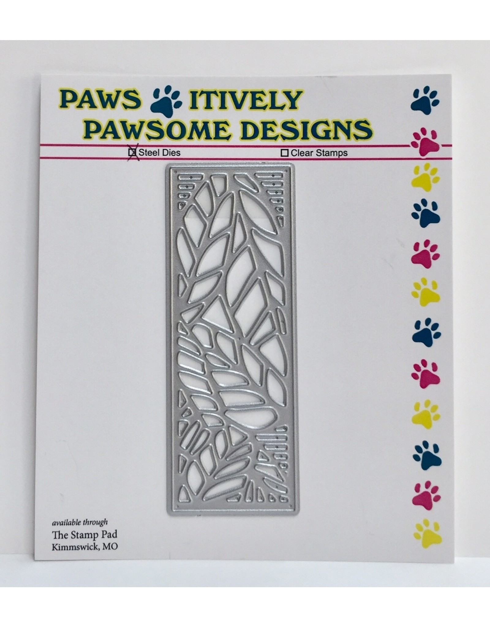 Paws-Itively Pawsome Designs Tiny Leaf Panel - Die