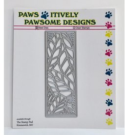 Paws-Itively Pawsome Designs Tiny Leaf Panel