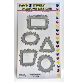 Paws-Itively Pawsome Designs Drippy Frames - Die