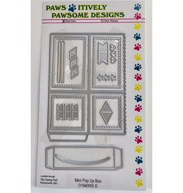 Paws-Itively Pawsome Designs Mini Pop-Up Box