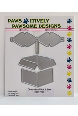 Paws-Itively Pawsome Designs Dimensional Box & Bow - Die