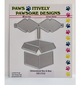 Paws-Itively Pawsome Designs Dimensional Box & Bow