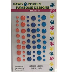 Paws-Itively Pawsome Designs Dots - Celestial Sparkle