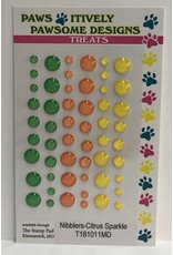 Paws-Itively Pawsome Designs Nibblers - Citrus Sparkle