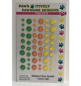 Paws-Itively Pawsome Designs Dots - Citrus Sparkle