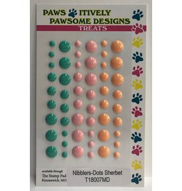 Paws-Itively Pawsome Designs Dots - Sherbet