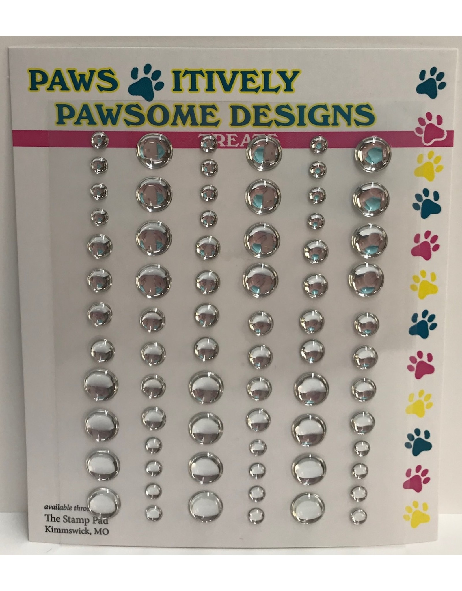 Paws-Itively Pawsome Designs Nibblers - Dots Clear