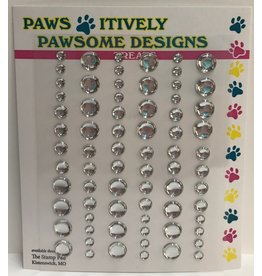 Paws-Itively Pawsome Designs Dots - Clear