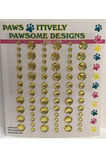 Paws-Itively Pawsome Designs Nibblers - Dots Yellow