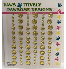 Paws-Itively Pawsome Designs Dots - Yellow